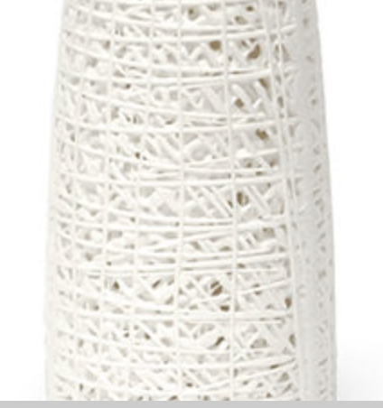 White Skinny Vase - Available in 2 Sizes
