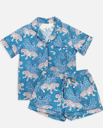 Bagheera Short Sleep Set - Indigo