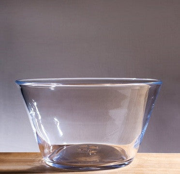SIMON PEARCE LARGE NANTUCKET GLASS BOWL