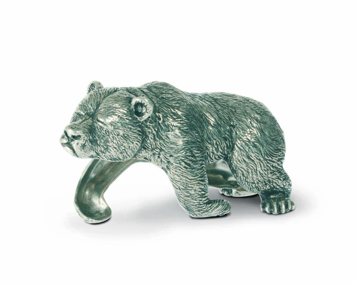 Pewter Sleeping Bear Napkin Ring
