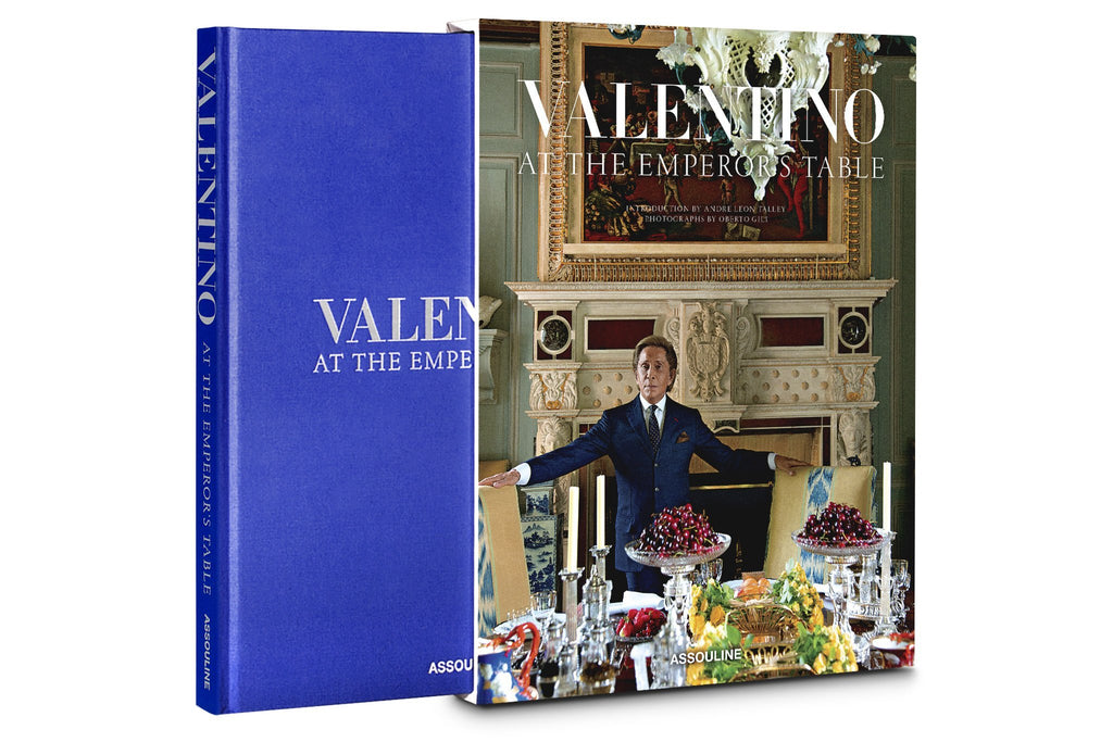 Valentino At the Emporer's Table Book