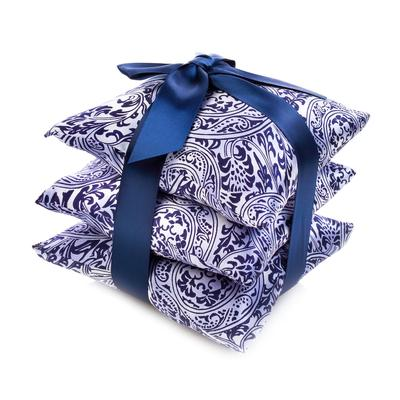 Silk Sachet, Set of 3 by Elizabeth W  Available in 3 designs