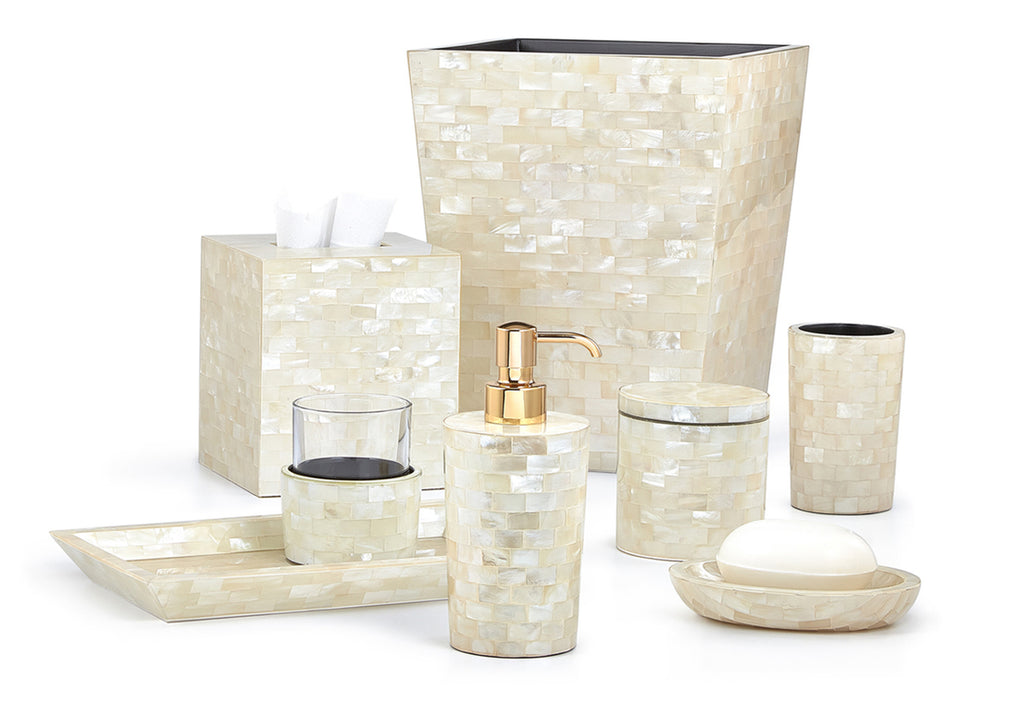 Labrazel White Agate Bath Accessories