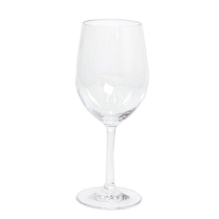 Acrylic White Wine Glass