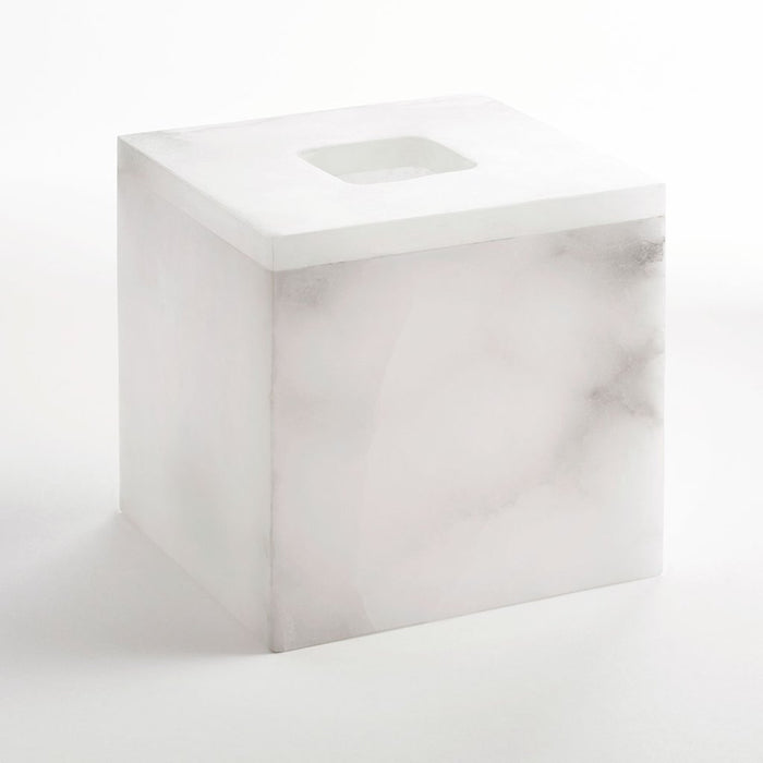 Alabaster Tissue Holder