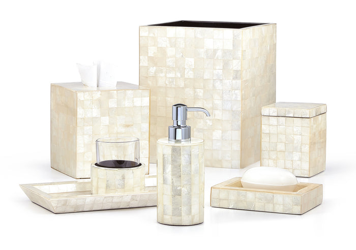 Labrazel Capiz Ivory Bath Accessories