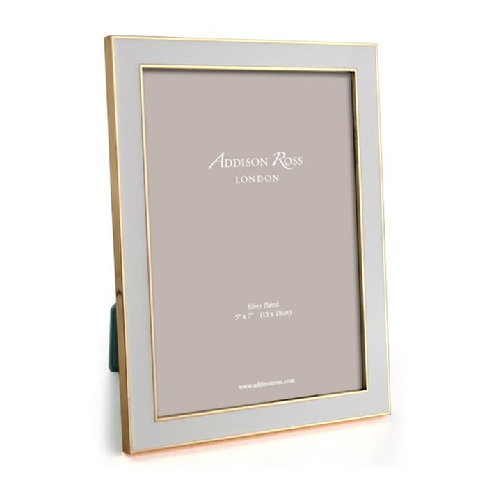 Chiffon and Gold Enamel Frame  - Available in 2 Sizes