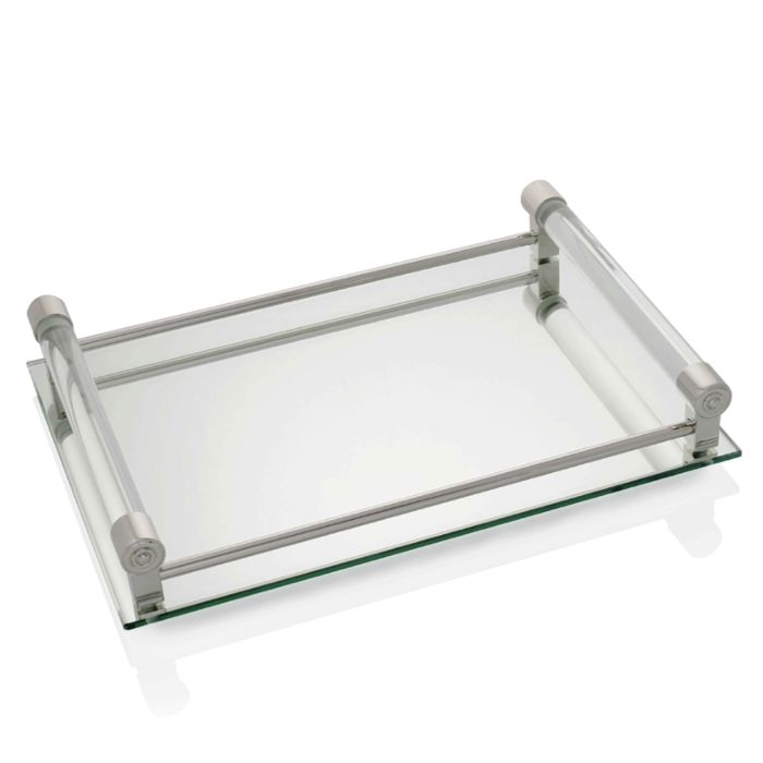 WILLIAM YEOWARD Coco  Mirrored Bar Tray