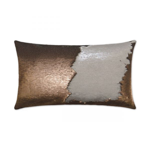 DECORATIVE PILLOW - HYLEE LUMBAR / Bronze