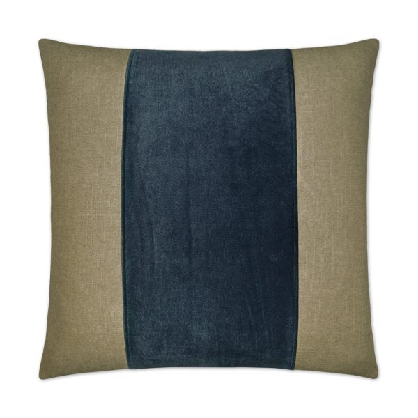 DECORATIVE PILLOW - JEFFERSON BAND / Azur