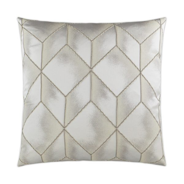 DECORATIVE PILLOW - SOCIAL CALL / Platinum