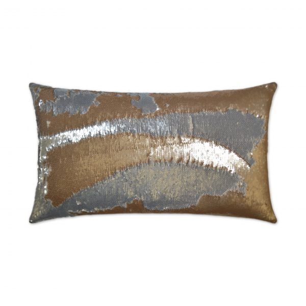DECORATIVE PILLOW - HYLEE LUMBAR / Gold