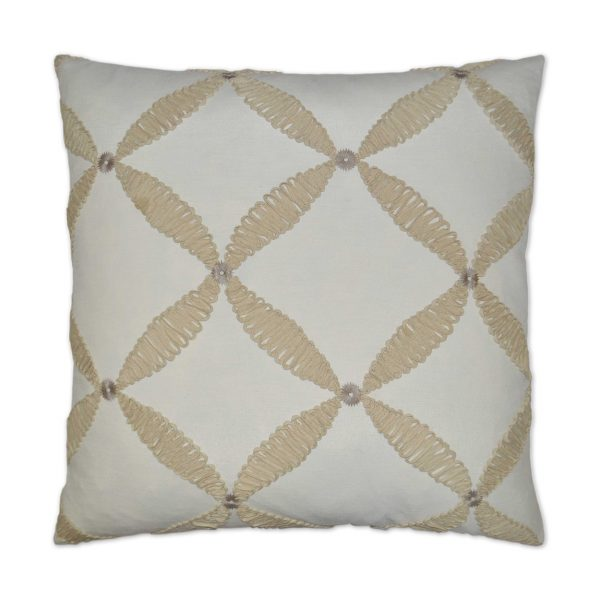 DECORATIVE PILLOW - WINDWARD / Ivory