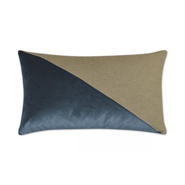 DECORATIVE PILLOW - JEFFERSON  Lumbar / Azur