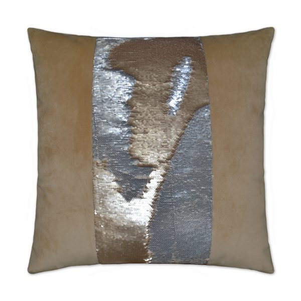 DECORATIVE PILLOW - HYLEE II / Gold