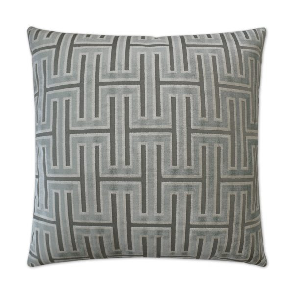 DECORATIVE PILLOW - CARLYLE / Glacier