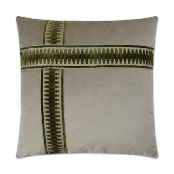DECORATIVE PILLOW - ANTIBES II / Emerald