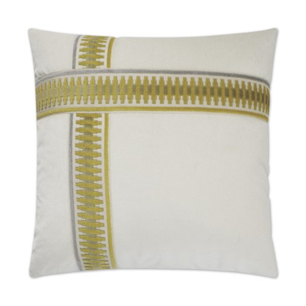 DECORATIVE PILLOW - ANTIBES II / Yellow