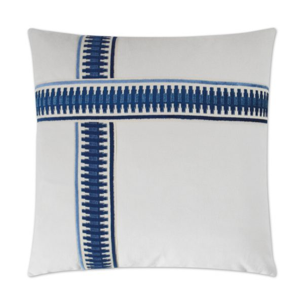 DECORATIVE PILLOW - ANTIBES II / Blue