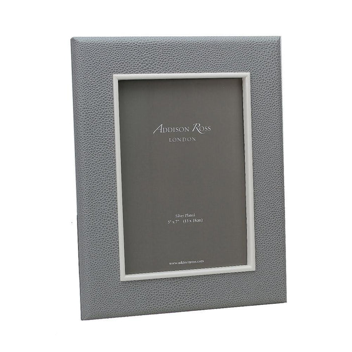 Grey Shagreen Frame  - Available in 2 Sizes