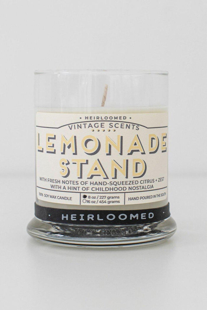 Heirloomed Collection Lemonade Stand Candle