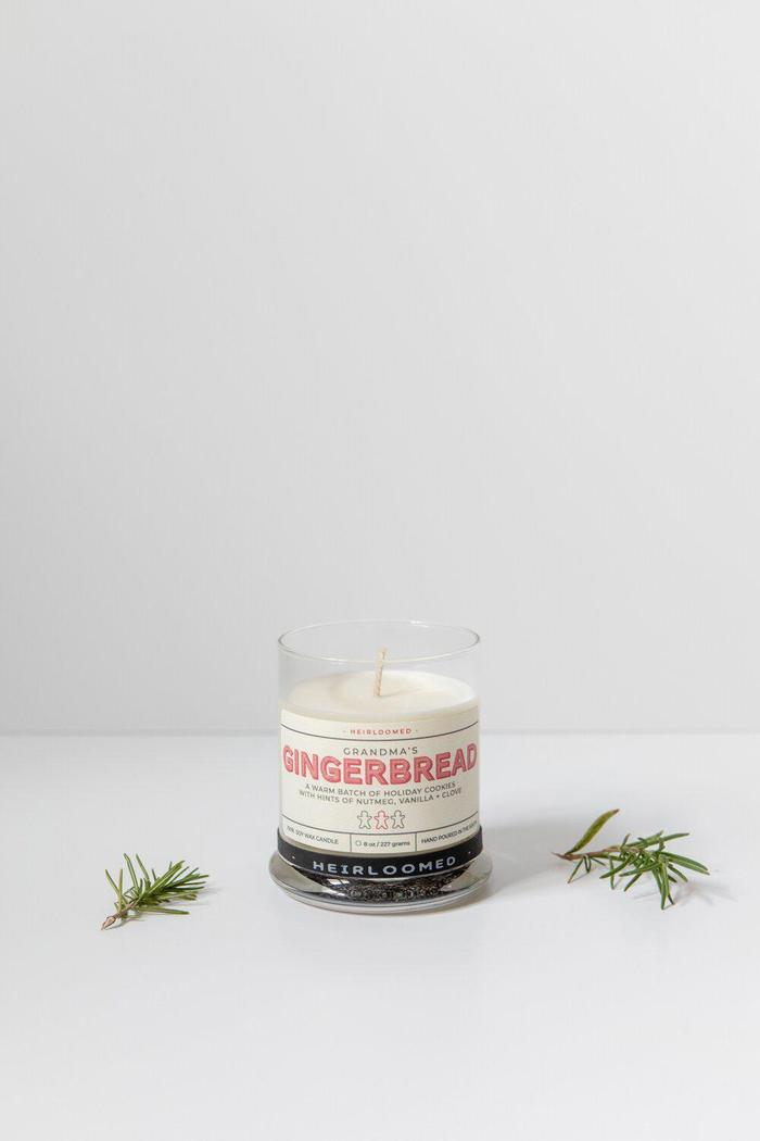 Heirloomed Collection Gingerbread Candle