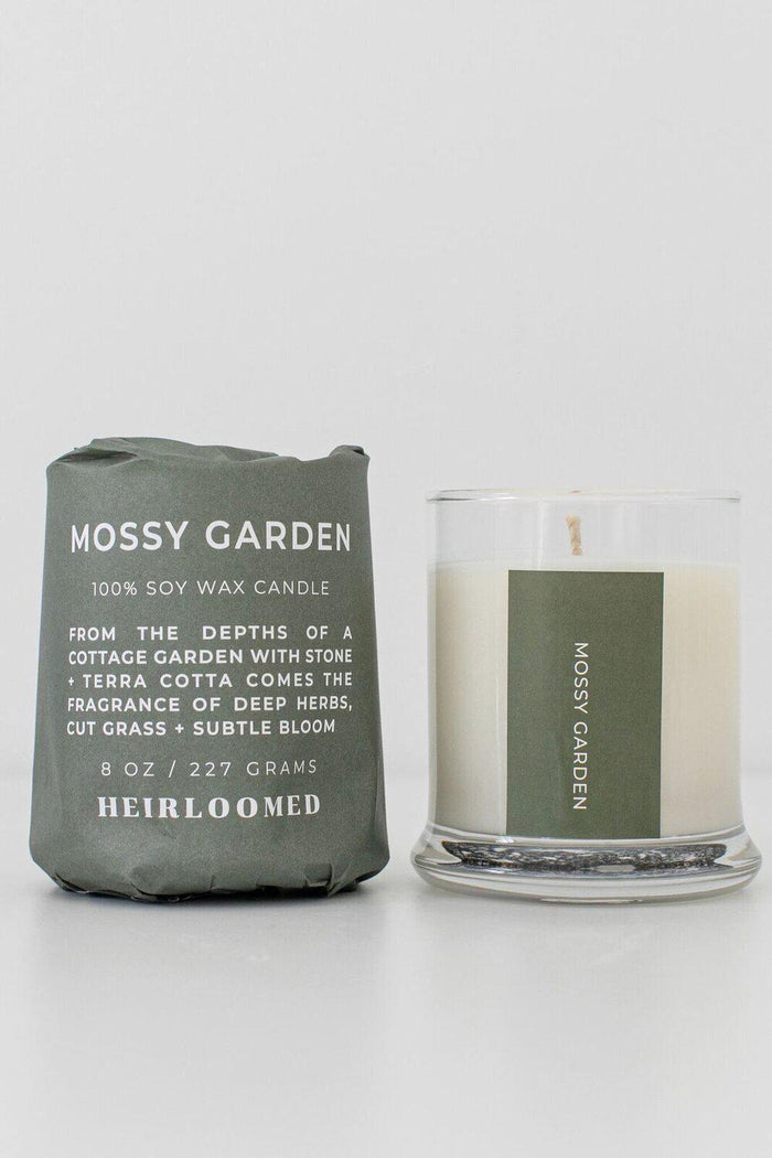 Heirloomed Collection Mossy Garden Candle