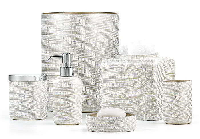 Labrazel Woven Platinum Bath Accessories
