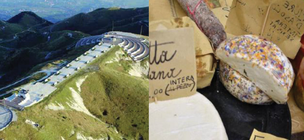 Montegrappa hike with wine tasting italy