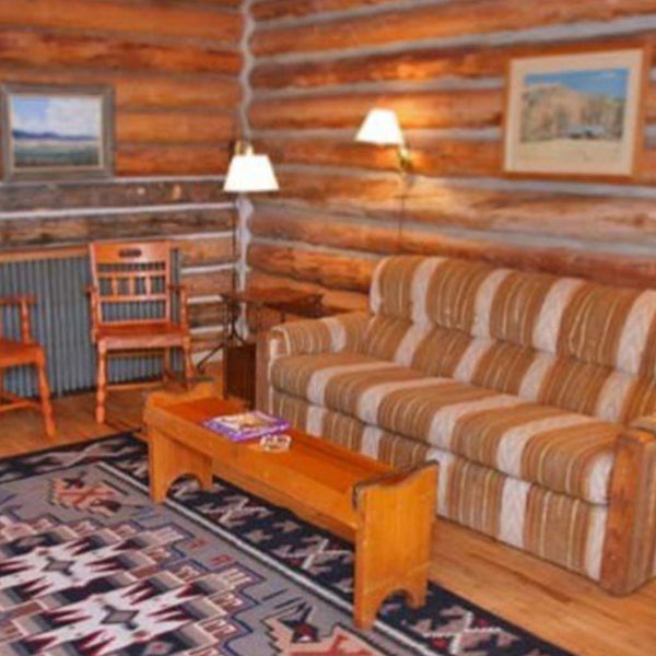 Cabin at Eatons ranch wyoming