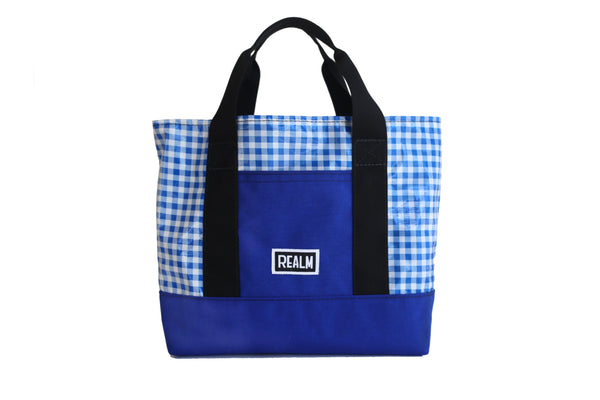Gingham Primaries Mini Totes