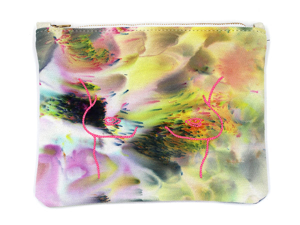 Boobeyes Dyed Clutch