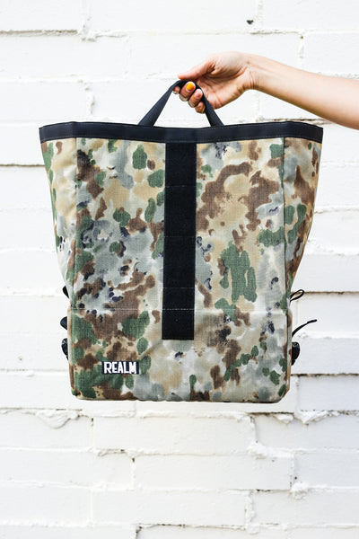 Wald Basket Bag Drip Camo