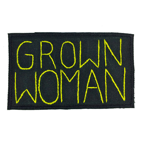 GROWN WOMAN patch