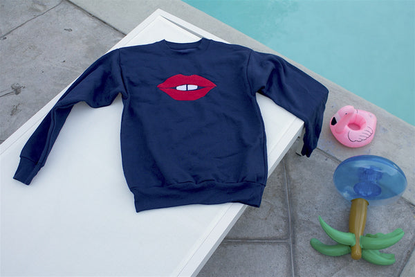 Toothy Lips Sweatshirt