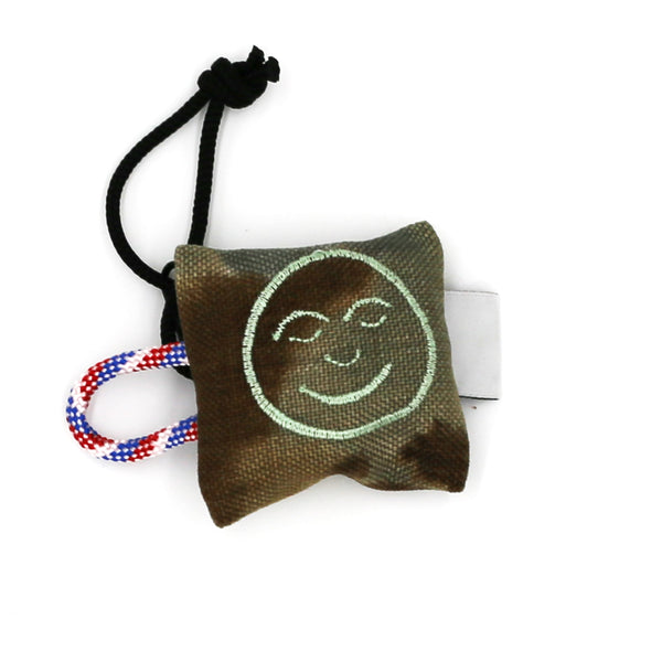 Smiley Face No Waste Keychain