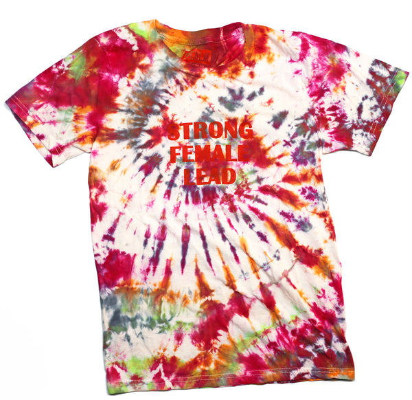 Tie-Dyed Strong Female lead