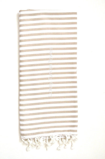 Turkish Delight Turkish Towel - Beige