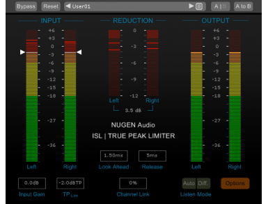 NUGEN Audio MasterCheck & ISL 2st