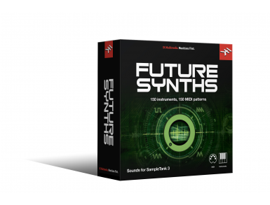IK Sampletank 3 Sound Library - Future Synths