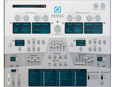Parsec Spectral Synth