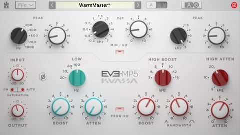 EVE-MP5 50'S EQUALIZER