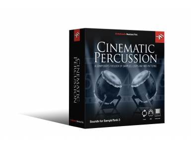 IK Sampletank 3 Sound Library - Cinematic Percussion