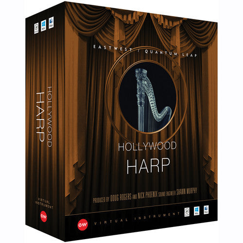 Hollywood Solo Harp - Gold