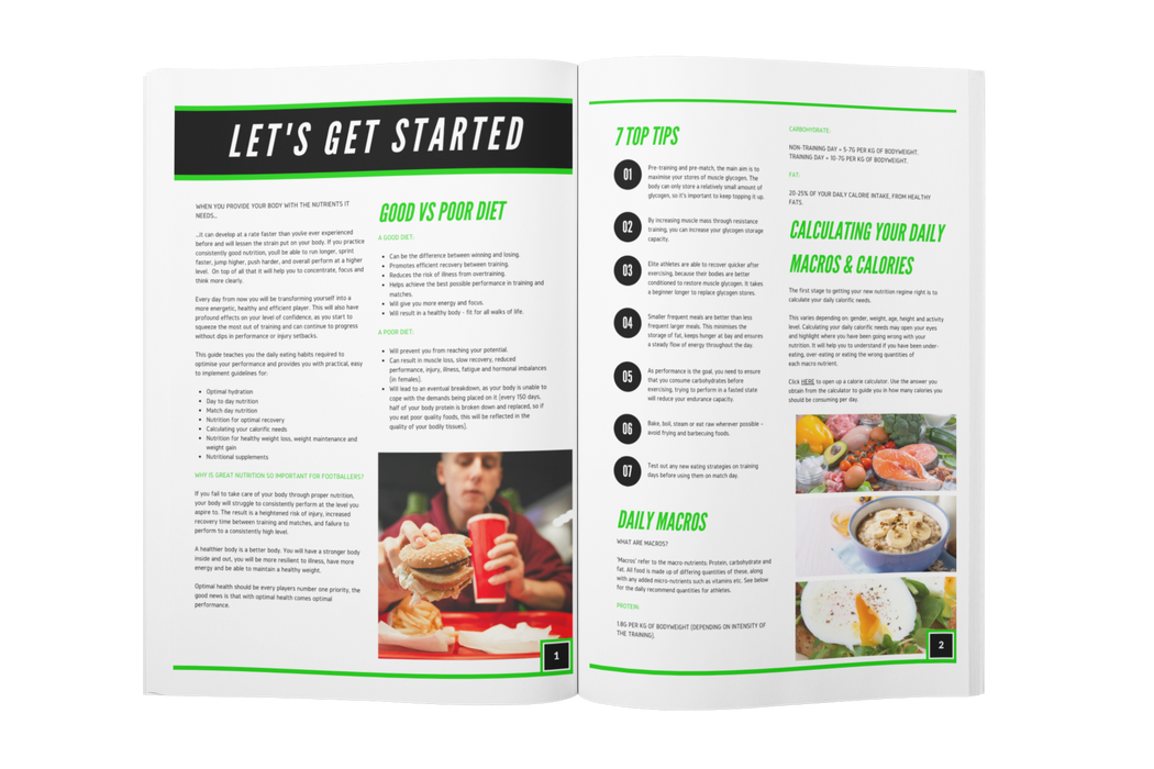 Football Nutrition Guide