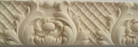 Bellefleur border silicone mold - mould
