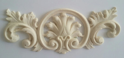 St. Tropez French shell cartouche silicone mould