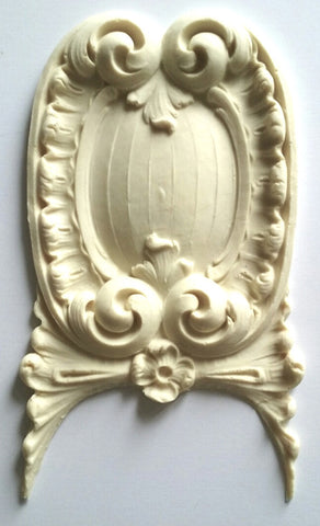 Versailles Cartouche silicone mould