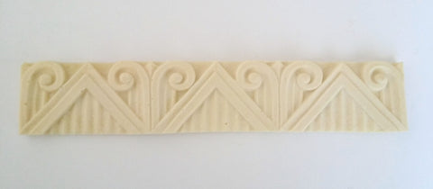 Art Deco linear silicone mold - mould