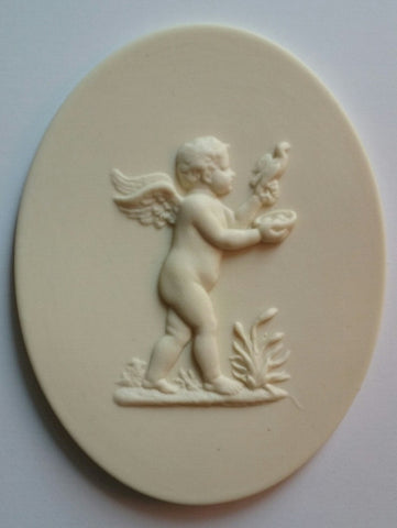 Winter cherub silicone mould by Sugar Art Molds